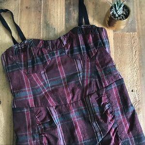 Nanette Lepore Plaid Sheath Dress